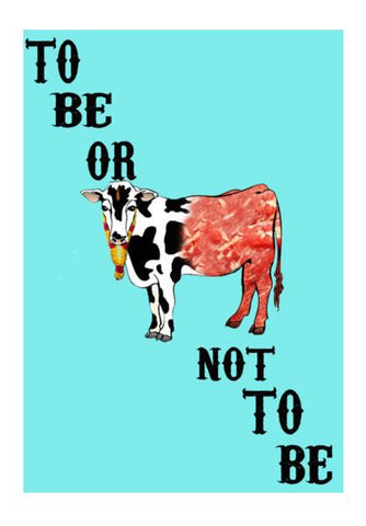 PosterGully Specials, Beef | To Be Or Not To Be Wall Art | Artist : Swanand Joshi, - PosterGully