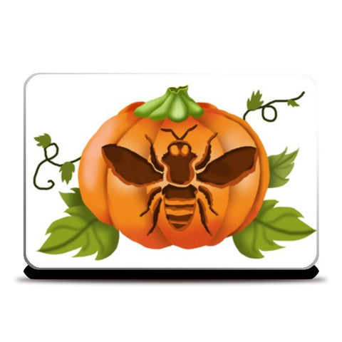 Laptop Skins, Bee Pumpkin  Laptop Skins | Artist : Anuj Goyal, - PosterGully