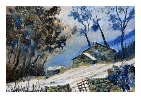 Wall Art, winter 562120 Wall Art  | Artist : pol ledent, - PosterGully