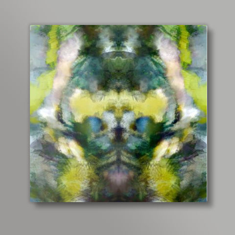 MONSTER MAN Square Metal Prints | Artist : Shalom  Design