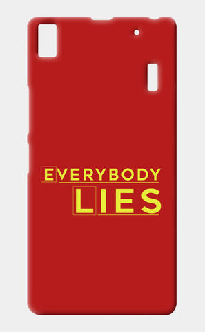 Everybody Lies Lenovo K3 Note Cases | Artist : Kaushal Faujdar