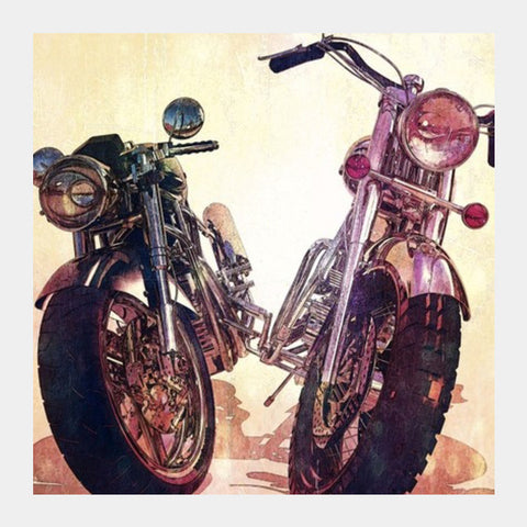 Square Art Prints, bike Square Art Prints | Artist : abhijeet sinha, - PosterGully