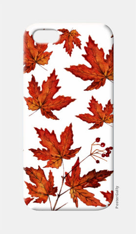 iPhone 5 Cases, Autumn Maple Leaves iPhone 5 Case l Artist: Seema Hooda, - PosterGully