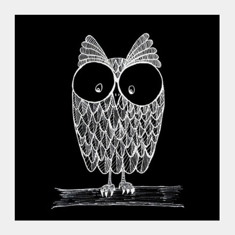 Square Art Prints, Nocturnal. Square Art Prints | Artist : Ashritha Rao, - PosterGully