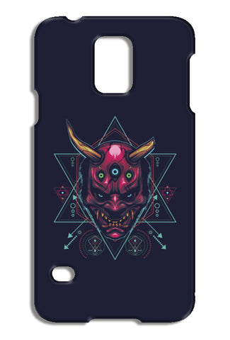 The Mask Samsung Galaxy S5 Cases | Artist : Inderpreet Singh
