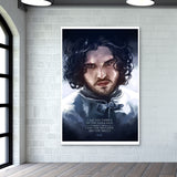 Jon Snow | the watcher Wall Art | Artist : Aniruddha Lele