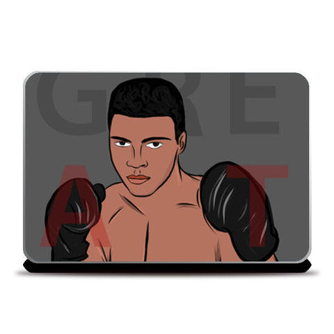 Greatest Ali Laptop Skins | Artist : Ayush Yaduv