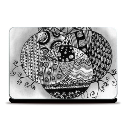 The Doodled Earth Laptop Skins | Artist : Nishita Jain