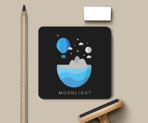 Moonlight Coasters | Artist : Ninja Bunny