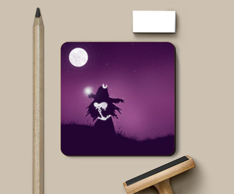 Enchantress – Mystery Night Coasters | Artist : Darshan Gajara's Artwork