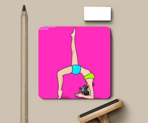 YOGA Coasters | Artist : DISHA BHANOT