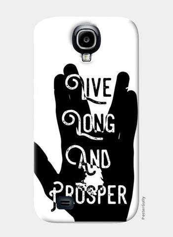 Live Long And Prosper Samsung S4 Cases | Artist : Anshul Patria