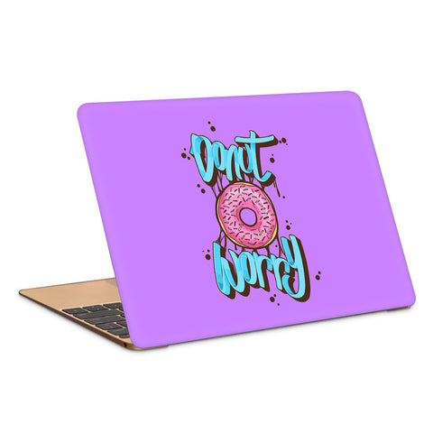 Donut Worry Artwork Laptop Skin
