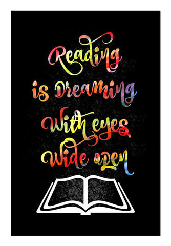 Reading Is Dreaming Art PosterGully Specials