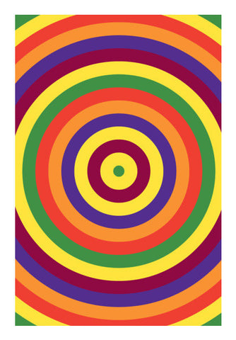 Bright Colours Rainbow Art PosterGully Specials