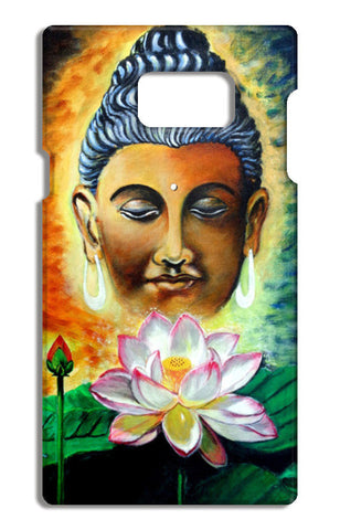 Lord Buddha Samsung Galaxy Note 5 Tough Cases | Artist : Saroj Meher