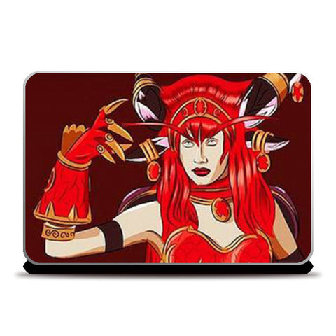 Laptop Skins, Dragon Queen Laptop Skins | Artist : Divakar Singh, - PosterGully