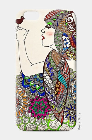 Girl iPhone 6/6S Cases | Artist : Prasun Balasubramaniam