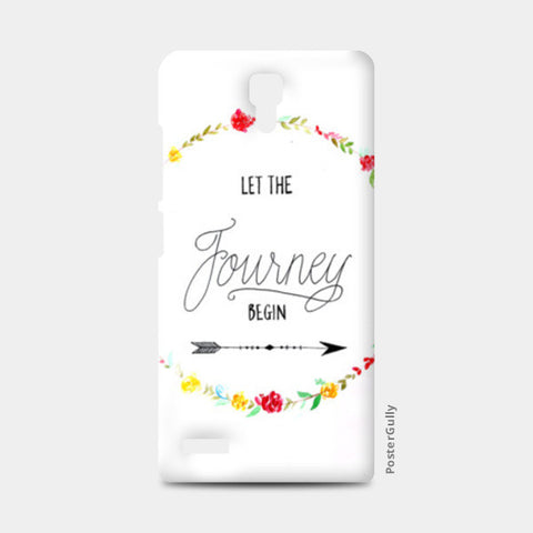 The Journey phone case Redmi Note Cases | Artist : Anjali Nilakantan
