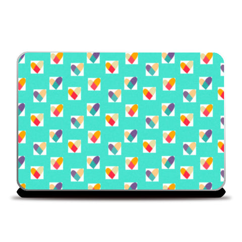 Laptop Skins, Heart in a Box (Blue) Laptop Skins | Artist : Tanvi C, - PosterGully