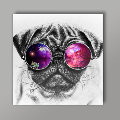 Sassy Dog Metal Prints | Artist : Design|A