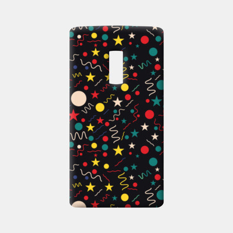 Seamless abstract pattern with geometric shapes One Plus Two Cases | Artist : Designerchennai