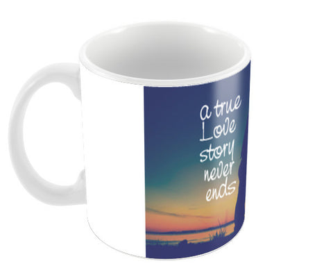 A True Love Story Coffee Mugs | Artist : Abhishek Bhardwaj