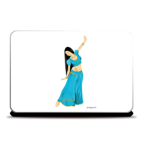 Laptop Skins, Woman Dancing Laptop Skins | Artist : Deepak NT, - PosterGully