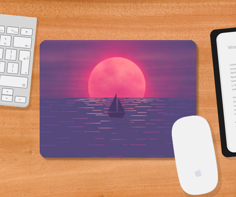 Into the Sea Mousepad | Artist : Akshita Shah