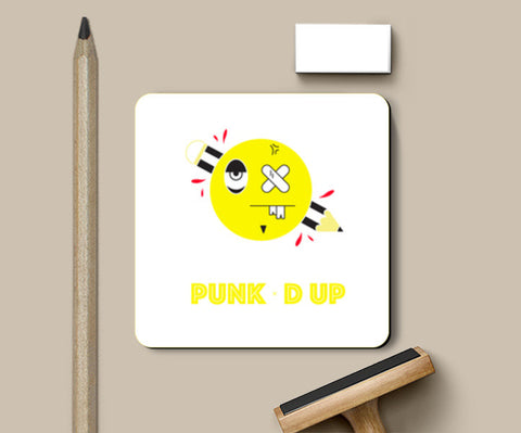 punked up Coasters | Artist : Shantanu Kumar
