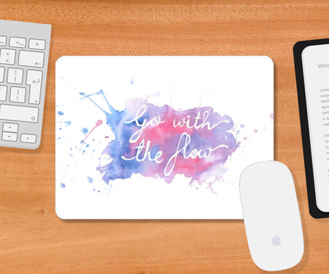 Mousepad, Go with the flow Mousepad | Artist : Megha Shah, - PosterGully