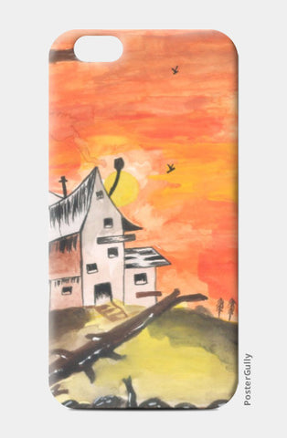 iPhone 6 / 6s, Haunted House iPhone 6 / 6s Case | Artist: Teena Chauhan, - PosterGully