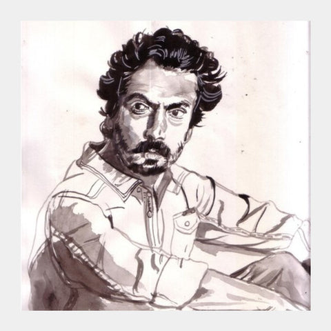 Nawazuddin Siddiqui Is A Versatile Actor Square Art Prints PosterGully Specials
