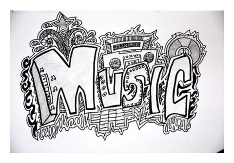 Music Era Wall Art  | Artist : Aishwarya Menon