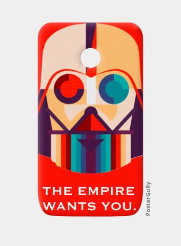The Empire Moto E Case | Artist: Raghav Puri