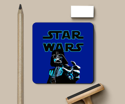 Darth Vader, Star Wars illustration Coasters | Artist : Aninya Gangal