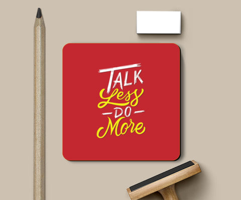 Talk Less Do More Coasters | Artist : Inderpreet Singh