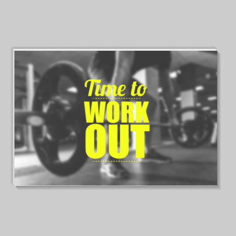 Workout Motivation Stick Ons | Artist : Stuti Bajaj
