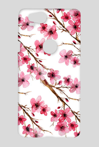 Beautiful Pink Cherry Blossom Floral Branches Design Google Pixel 2 Cases | Artist : Seema Hooda