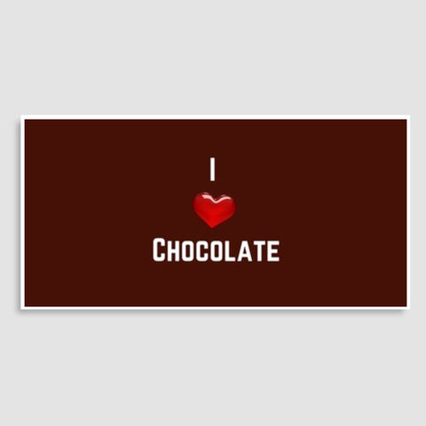I love chocolate Door Poster | Artist : Pallavi Rawal