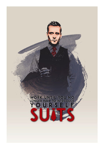 Suits | Harvey Specter | Quote Wall Art | Artist : Vivid Corner