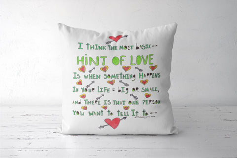 Hint of love Cushion Covers | Artist : Suneera Heloise Mendonsa