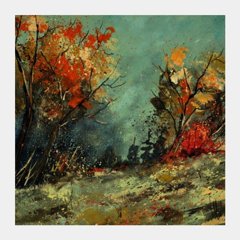 in the wood 4521 Square Art Prints | Artist : pol ledent