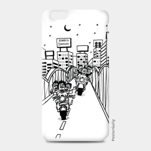 iPhone 6/6S Plus Cases, Boy's Hangouts in Ahmedabad..!! iPhone 6 Plus/6S Plus Cases | Artist : Goggi's Doodles, - PosterGully