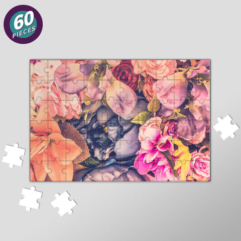 Flora Jigsaw Puzzles | Artist : Scatterred Partikles