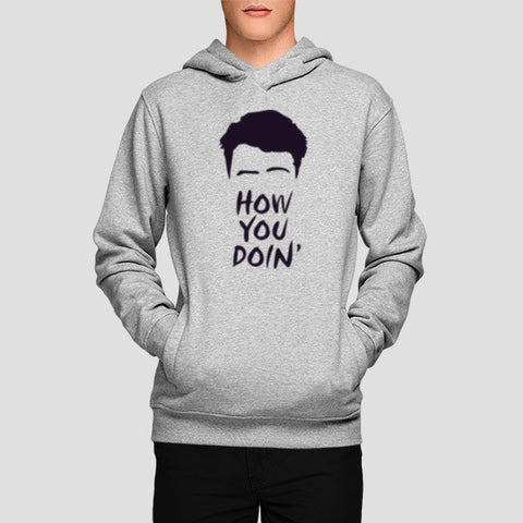 Hoodies, Joey From Friends Hoodies | Artist : Mohak Gulati, - PosterGully