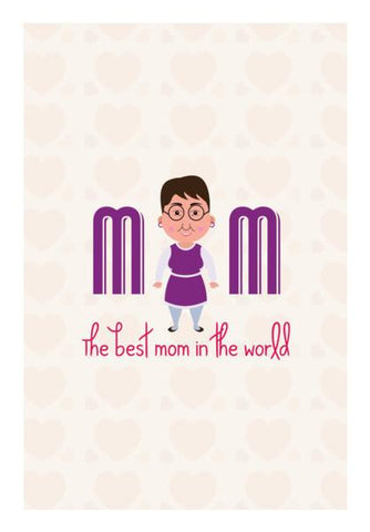 PosterGully Specials, Cartoon Mother Wall Art | Artist : Designerchennai, - PosterGully