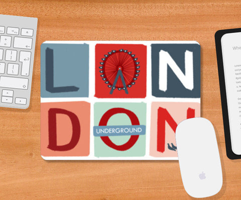 LONDON 1 Mousepad | Artist : Shrishti Chouhan