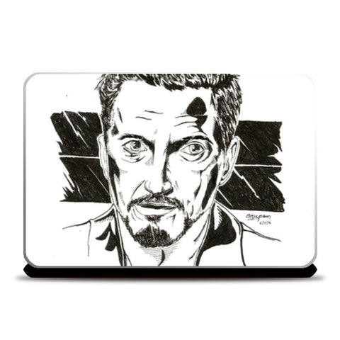 Robert Downey Jr. Artwok Laptop Skins | Artist : Anupam Prasoon