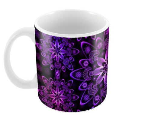 Purple Mandala Coffee Mugs | Artist : Madhumita Mukherjee